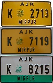 189-Pakistan Azad Jammu Kashmir samples
